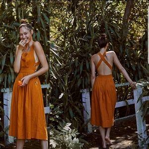 Free people Lula Midi Dress
